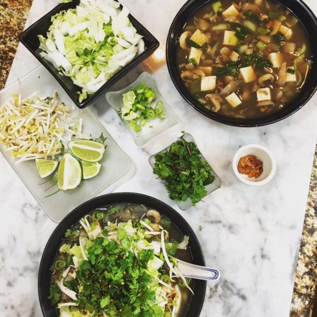 Detox Vietnamese Pho Soup - LauraLaire com