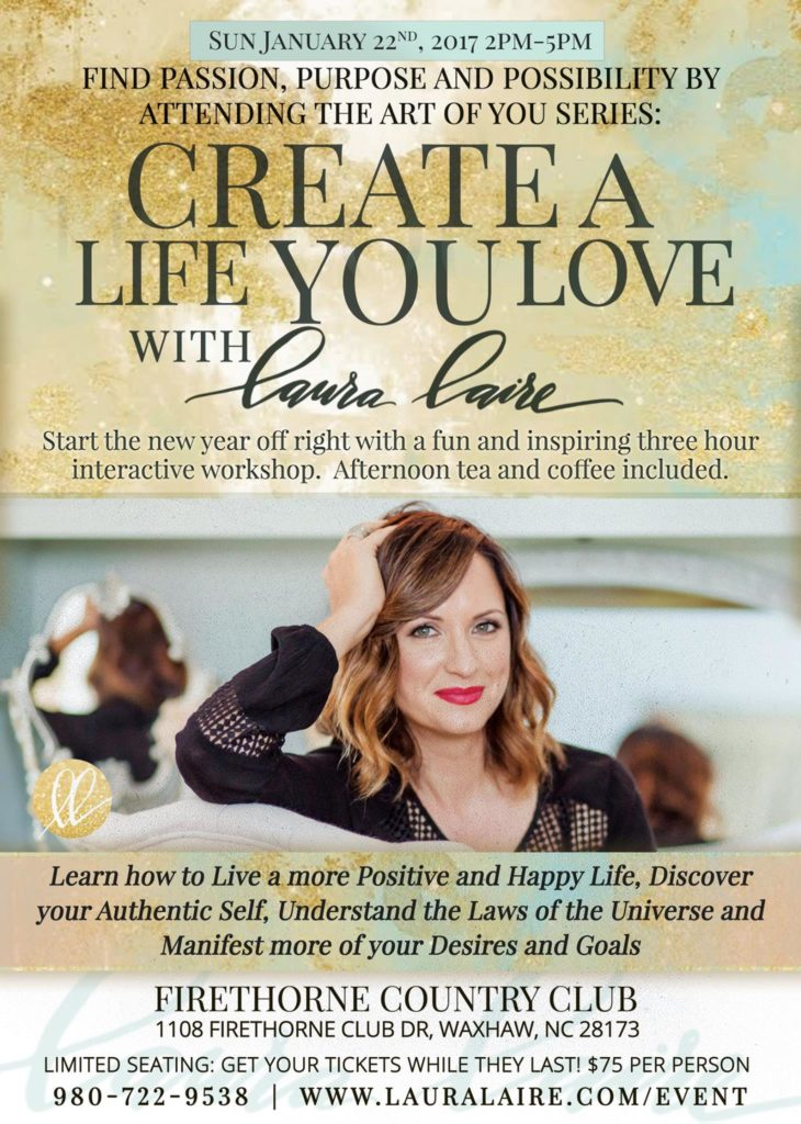Art of You Series: Create a Life You Love with Laura Laire